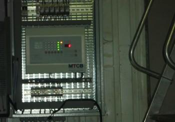 Installation centrale de détection de fuite de gaz