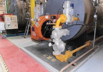 Installation régulation d'O2 et CO sur brûleur gaz