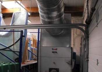 Installation générateur avec gaines