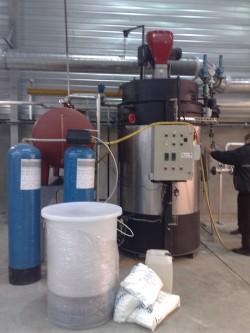 Installation chaudière vapeur instantanée