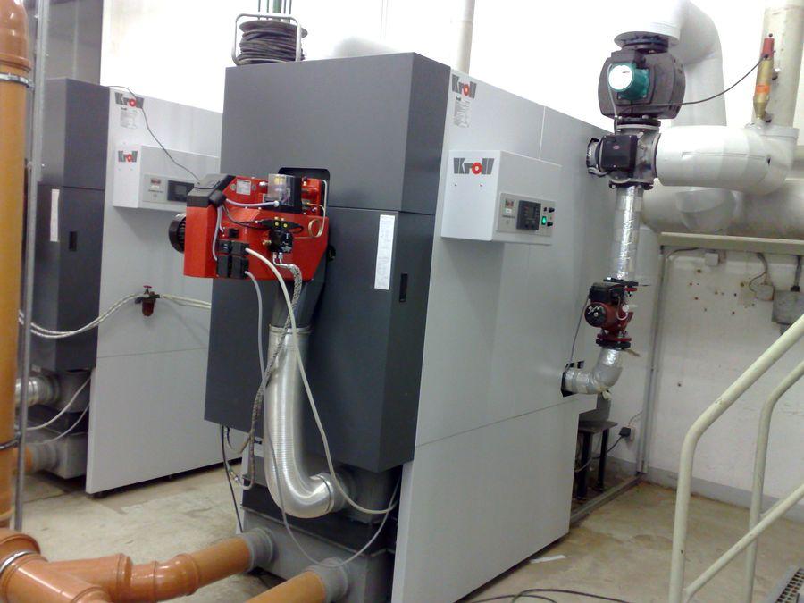 Installation chaudière eau chaude à condensation permanente