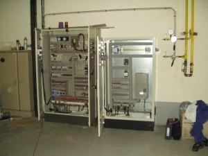 Installation brûleur Gaz naturel avec came numérique