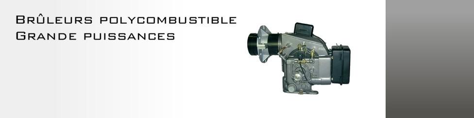 Brûleurs polycombustibles grande puissance BR