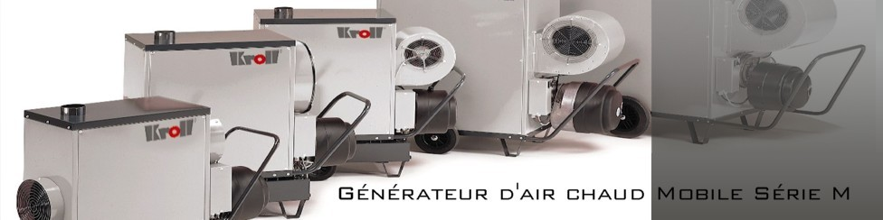 Générateurs mobiles centrifuges
