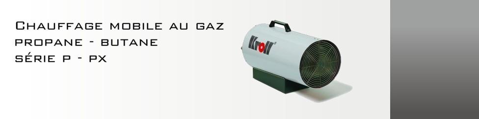 Chauffage mobile gaz