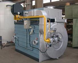 Chaudière fluide thermique horizontale série OMP