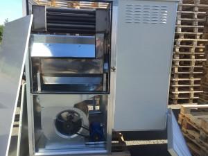 Générateur air chaud extérieur