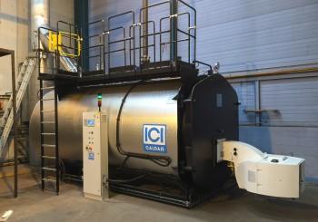 Installation chaudière vapeur GSX