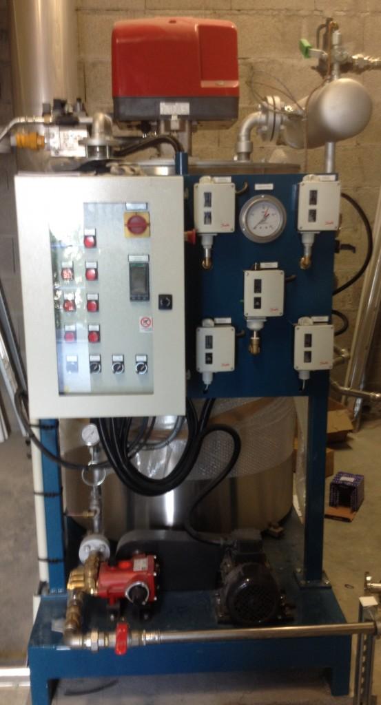 Installation chaudière vapeur instantanée FB