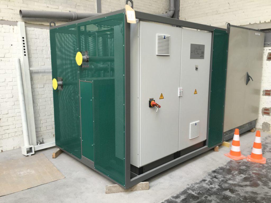 Installation chaudière fluide thermique électrique