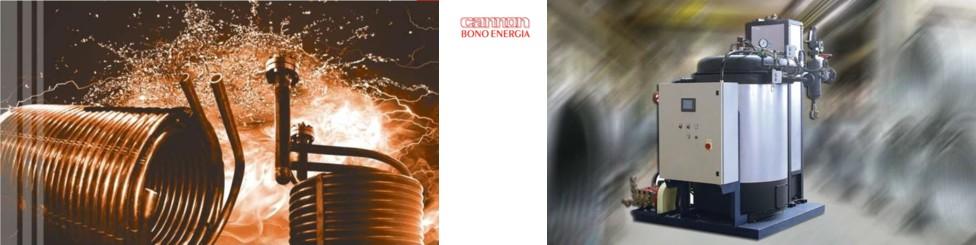 Chaudière vapeur instantanée grande puissance