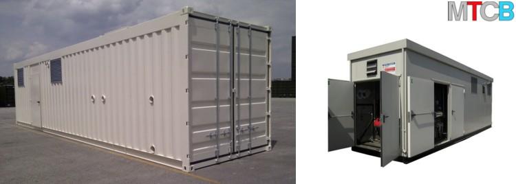 chaudière préfabriqué & container