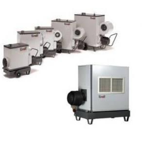 Gamme complète de générateurs air chaud